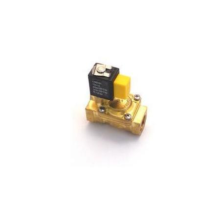 ELECTROVANNE LAITON 2VOIES 230V L:66MM TMAXI 130°C 50/60 HZ - TIQ11042