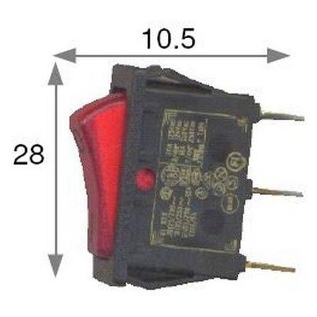REF.7.13 SWITCH. YELLOW - PUQ7347