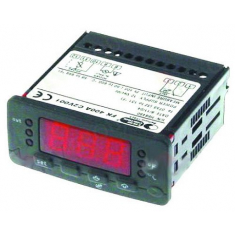 THERMOSTAT NUMERIQUE EVCO EVK411PTC/NTC/PT100/PT1000 12V - OGQ7395