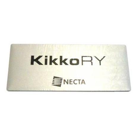 ETIQUETTE LOGO -KIKKO RY- NECTA 253431 ORIGINE - MQN6037