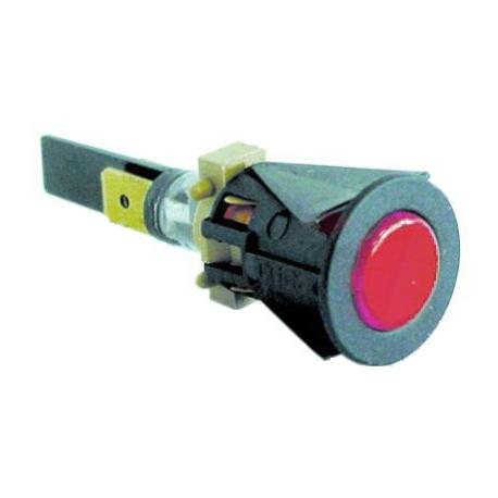 VOYANT ROUGE 230V í16MM COSSES 6.3MM  - IQ914