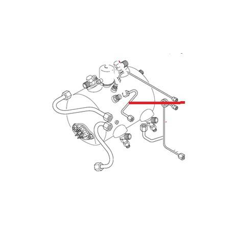 TUYAU CALYPSO R15 L:300MM Ø8MM ORIGINE - NFQ07555189