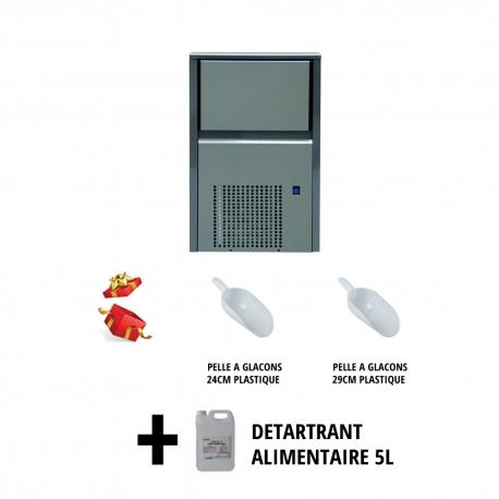 KIT MACHINE A GLACONS ITV INJECTION A AIR PELLES+DETARTRANT - RRI337