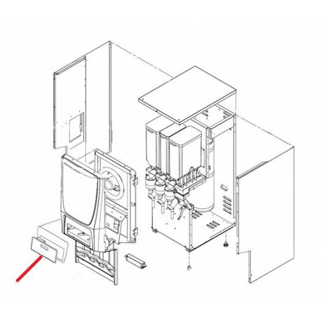 KIT CLAVIER + FACADE PCGT3 ORIGINE - PHEGQ82