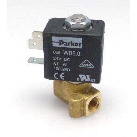 ELECTROVANNE PARKER 2VOIES 5W 24V CC ENTREE 1/8 SORTIE 1/8 - IQ8617