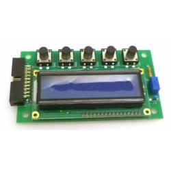 AFFICHEUR LCD BLEU + 5 BOUTONS MB1 ORIGINE - PUBQ668
