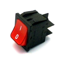 LOT DE 10 INTERRUPTEURS ROUGES VD591 - 398