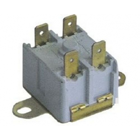 THERMOSTAT CONTACT DE SECURITE 16A TMAXI 125°C 2 POLES - IQ665632