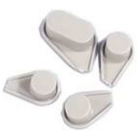 BUTTON SET GREY SB266/277 - XRQ1405