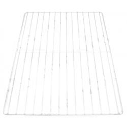 GRILLE EN ACIER PLASTIFIE BLANC L:600MM L:400MM  - TIQ665546