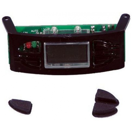 CLOCK ASSY+BUTTONS BLACK CM665 - XRQ65506