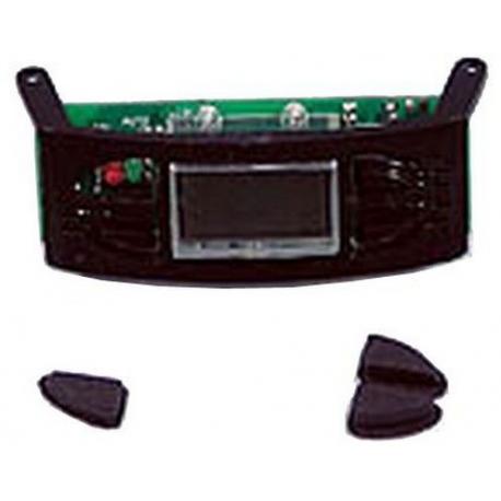 CLOCK ASSY+BUTTONS BLACK CM685 - XRQ65507