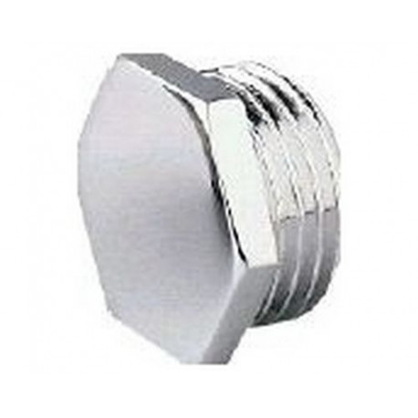 BOUCHON CHROME MALE 1/4 - IQ6792
