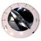 BOUTON DE COMMANDE BLANC/CHROME W/O IMPULSION PM400 ORIGINE - XRQ2718