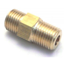BRASS CONNECTOR 1/4M - 1/4M ORIGINAL