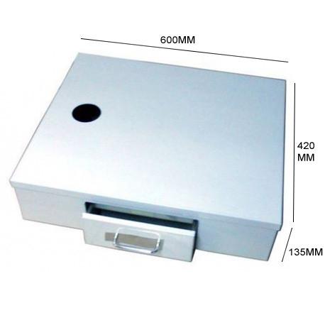 BAC A MARC INOX 600X420X135MM - IQ7015