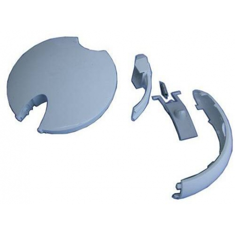 LID & HANDLE KIT - WHITE - XRQ0483