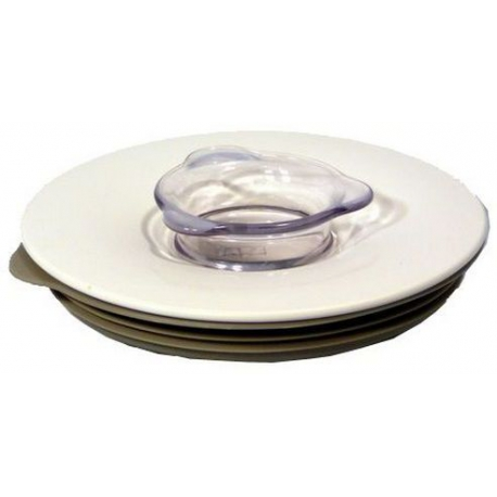 LID + FILLER CAP - WHITE BL540 - XRQ4448