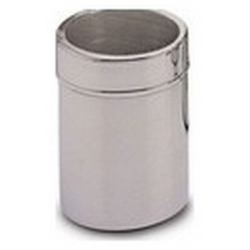 POUDRIER CACAO 0.72 H0.95 INOX GRILLE FINE ORIGINE