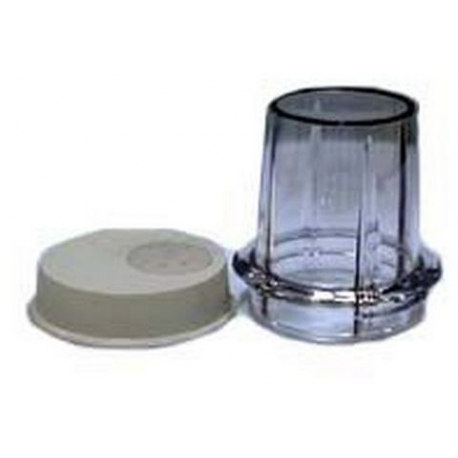 MILL JAR & LID GREY ORIGINE - XRQ8642