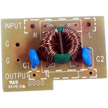 NOISE FILTER PCB ASSEMBLY - XRQ2232