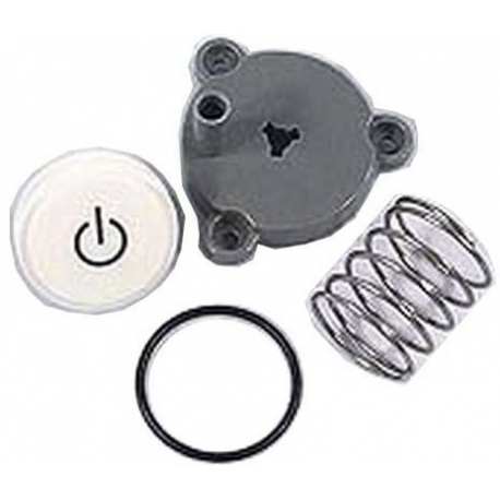 XRQ2497-ON/OFF BUTTON ASSY SILVER