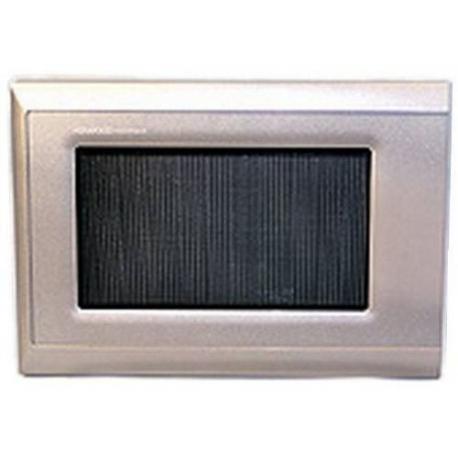 OVEN DOOR COMPLETE SILVER - XRQ2317