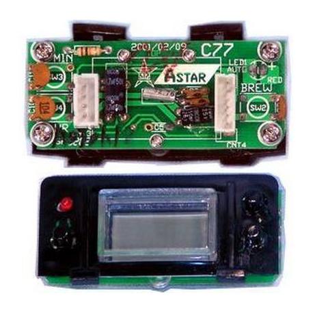 PCB CLOCK ASSY WITH BLACK - XRQ2476