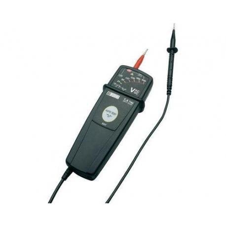 TESTEUR DE TENSION AFFICHAGE LED 12 A 690 V/AC/DC - TIQ65694