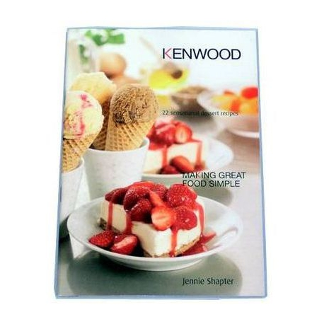 RECIPE BOOK 22 DESSERT ORIGINE - XRQ0183