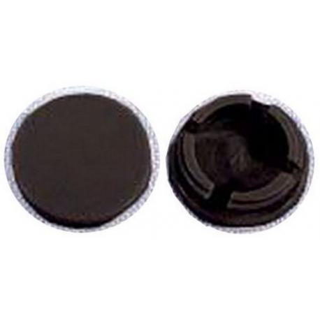 SCREW CAP BLACK 2PK FP626/636 - XRQ4046