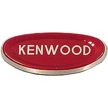 XRQ3065-SELF ADHESIVE LOGO KENWOOD