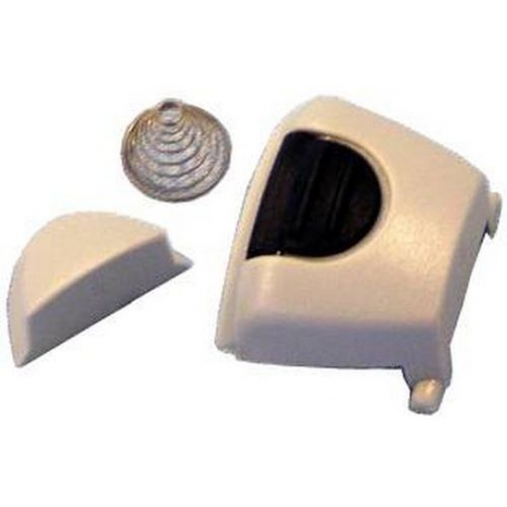STEAM BUTTON ASSY LT GREY - XRQ2265
