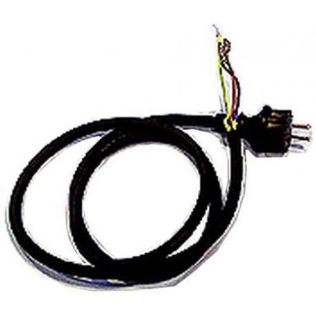 SUPPLY CORD - BLACK RUBBER - XRQ3110