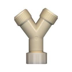 RACCORD EN Y PVC 3/4''PCE - IQ150