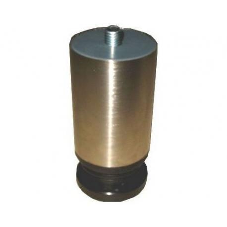 PIED REGLABLE CHROME M.A CAFE H/:75/120MM EN 10MM =A - IQ255