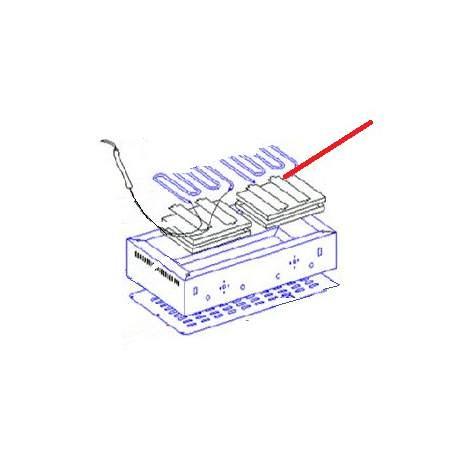 BLOCAGE ISOLANT PS36/PS30D ORIGINE ROLLERGRILL - EYQ6545