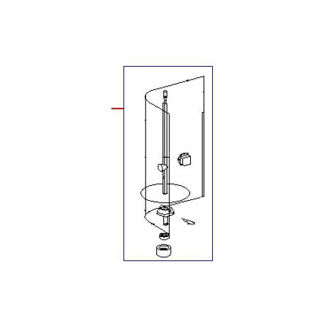 BROCHE COMPLETE GR 60 E/G ORIGINE ROLLERGRILL - EYQ8860