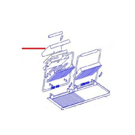 CAPOT PLAQUE SUP SAVOYE/MAJESTIC ORIGINE ROLLERGRILL - EYQ6182