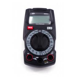 MULTIMETRE DIGITAL 600V AVEC CORDONS DIM 70X135X36MM