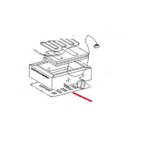 FOND DE SOCLE PS 36 ORIGINE ROLLERGRILL - EYQ6950