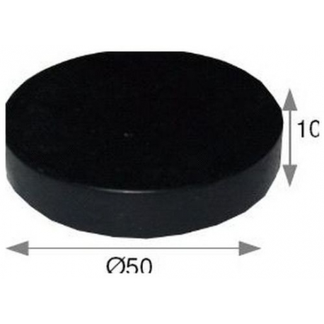 IQ414-TAMPON CAOUTCHOUC 50X10MM