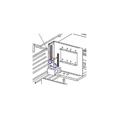 PALIER ARRIERE CT 540 ORIGINE ROLLERGRILL - EYQ7061