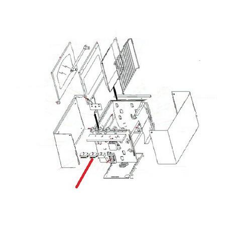 PROGRAMMATEUR ELECTRIQU RG400 ORIGINE ROLLERGRILL - EYQ7912