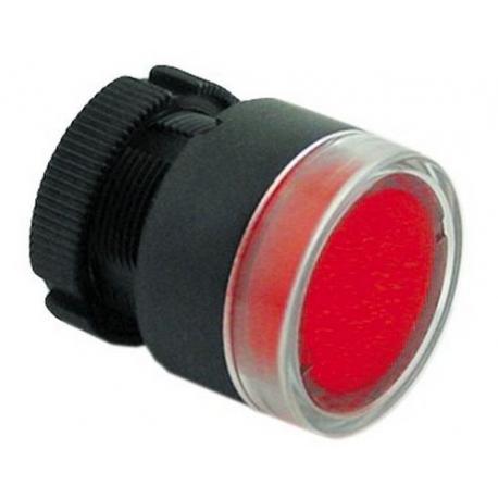 LAMPE VOYANT Ø22 ROUGE COMPLET - FVYQ8835