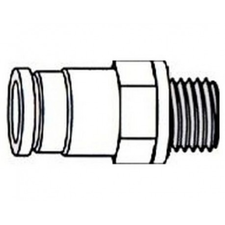 UNION SIMPLE 1/8M TUBE 4MM - IQN6865