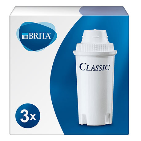 LOT DE 3 CARTOUCHES BRITA CLASSIC - IQN716
