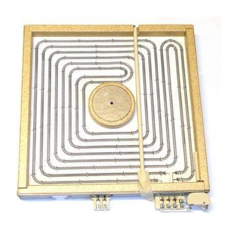 BYQ6061-PLAQUE CONNEXIONS AVIS 4000W 400V L:300MM L:300MM