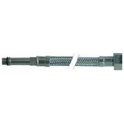 FLEXIBLE DROIT INOX L:400MM ØINT:8MM ØEXT:12MM