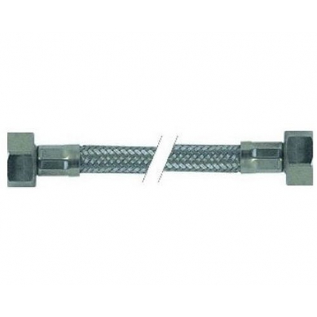 FLEXIBLE INOX 1/2FX1/2F PLAT AVEC JOINT LG:1100MM - ITQ788